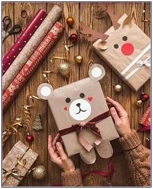 opakowanie świąteczne