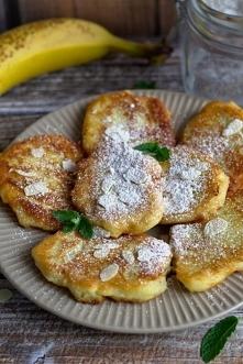 Bananowe placuszki z kaszy ...