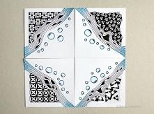 Jak zrobić mozaikę Zentangle?
