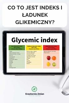 Indeks glikemiczny i ładunek glikemiczny produktów - co to jest? - Kreatornia Zmian