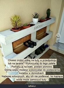 Kwietnik lub stojak na buty :)