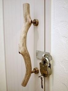 流木 ドア 取っ手