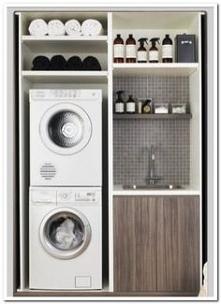 шкаф для стиральной и сушил...