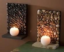 manualidades con piedras de...
