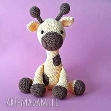 Szydełkowa żyrafa puszysta,...