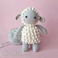 owieczka handmade szydełkowa