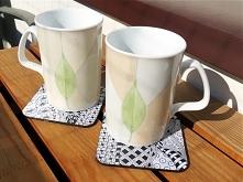 Podkładki pod kubki na herbatę