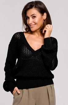 STYLE Oversizowy sweter z o...