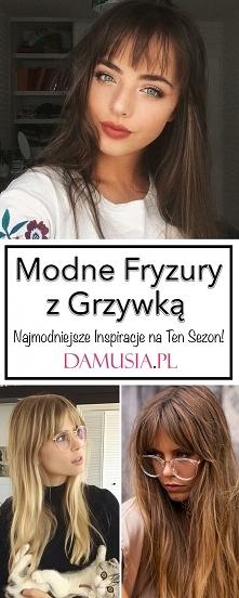 Najmodniejsze Inspiracje na Fryzury z Grzywką – Musicie Je Zobaczyć!