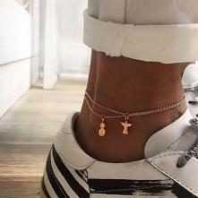 Dwie bransoletki na nogę do...
