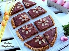 Mazurek czekoladowo-malinow...