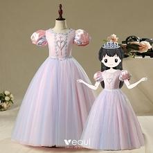 Vintage Różowy Perłowy Urod...