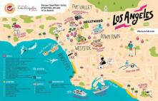 L.A CA map
