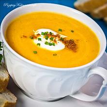 Zupa z dyni z imbirem