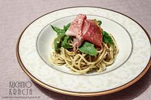 Spaghetti z prosciutto crud...