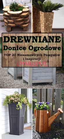 Drewniane Donice do Ogrodu ...