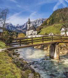 Ramsau bei Berchtesgaden, Niemcy :) Zapraszamy na puzzle ;)
