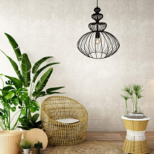 Metalowe lampy wiszące czarne P16180A-D44 VERTO Zuma Line zachwycą każdego swoim pięknym kształtem. Lampa wisząca czarna Verto to tradycyjne oświetlenie idealnego do przeróżnych...