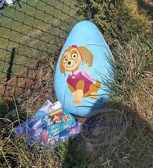 Ręcznie malowane jaja styro...