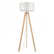 Elegancka i stylowa drewniana dębowa lampa stojąca Lotta Britop Lighting - dąb olejowany z eko abażurem. Ta dębowa drewniana lampa podłogowa stojąca Lotta występuje w różnych ko...