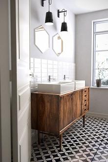 deco salle de bain vintage