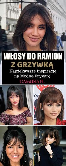 Włosy do Ramion z Grzywką – Najciekawsze Inspiracje na Modną Fryzurę
