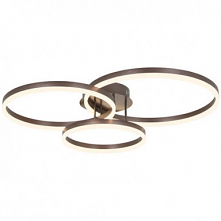 3-Light 70cm New Design / Lovely Flush Mount Lights Metal Acrylic Circle Pain...