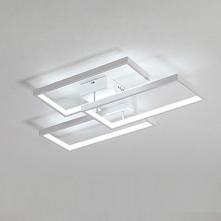 3-Light 40cm LED Flush Mount Lights Aluminum Painted Finishes Contemporary / ...