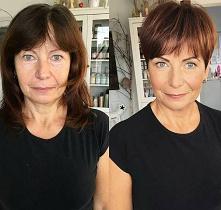 Nowa fryzura i odrobina makijażu a jaki efekt :-)