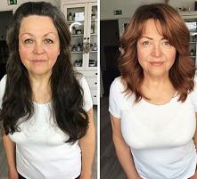 Koloryzacja + nowa fryzura + lekki makijaż... A jaki efekt ♥️