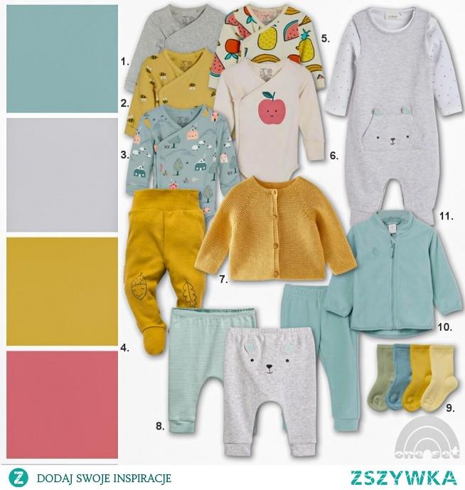 3 niezbędne zestawy ubrań dla noworodka, który na świecie ma się pojawić wiosną.