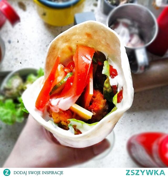 Domowa tortillawrap <3