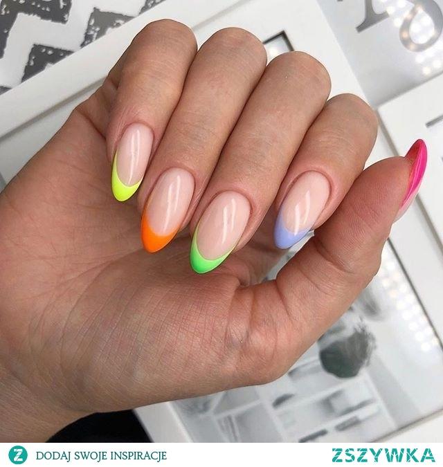 manicure colorfull