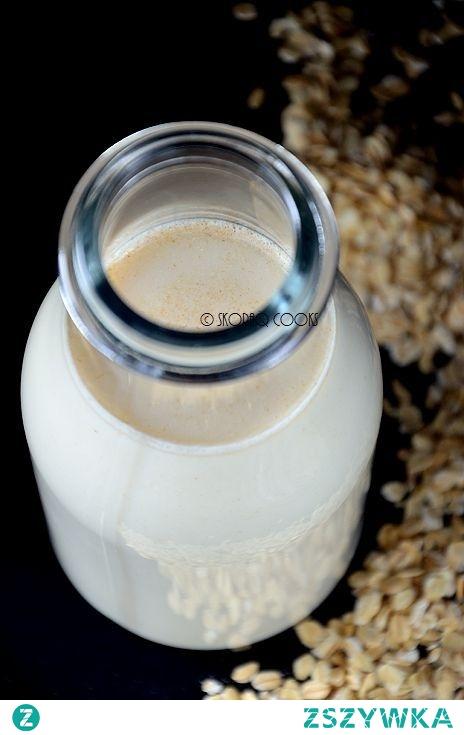 Wegańskie mleko owsiane