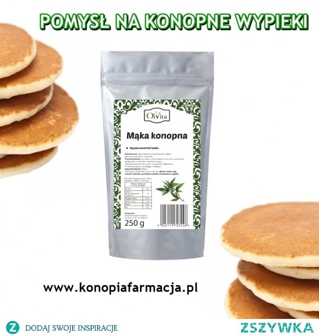 Z mąki konopnej zrobisz nie tylko pyszny chleb, ale nadaje się ona również do ciast i placków. Sprawdź na wwwkonopiafarmacjapl