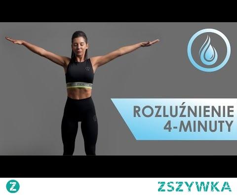 Rozluźnienie (4 min.) - rozciąganie po treningu w domu