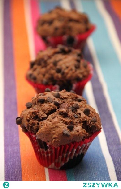 Muffiny bardzo czekoladowe