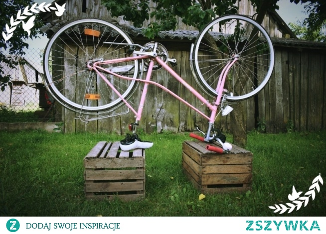 Uwielbiam rowerowe wycieczki, które wiosną są szczególnie niezwykłe.