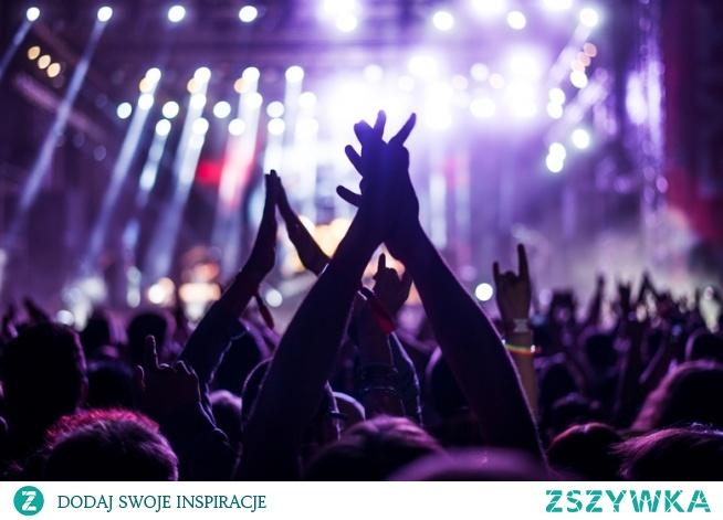 Uwielbiam muzykę i koncerty pod chmurką...