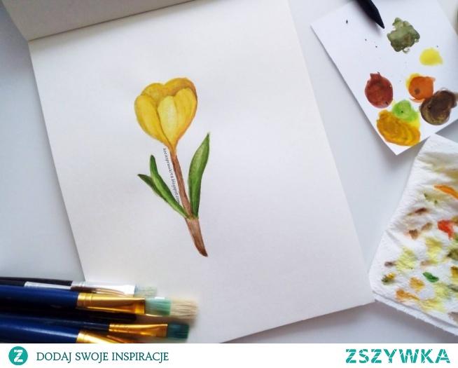 Malowanie akwarelami nie jest proste, ale może zacząć każdy z nas.Na blogu o moich początkach z akwarelami :) (klik) do tego 3 moje malunki