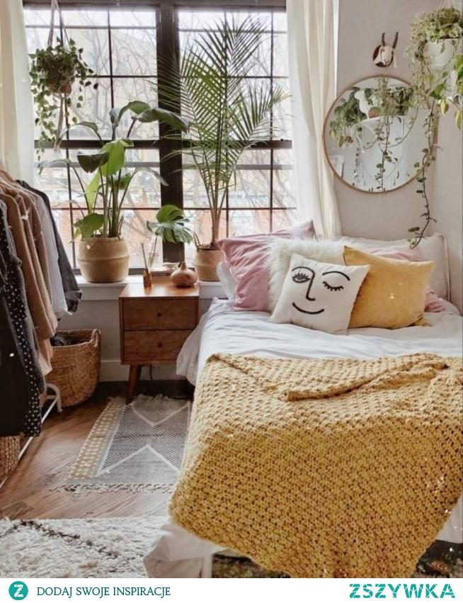 pomysł na pokój w musztardowym tonie