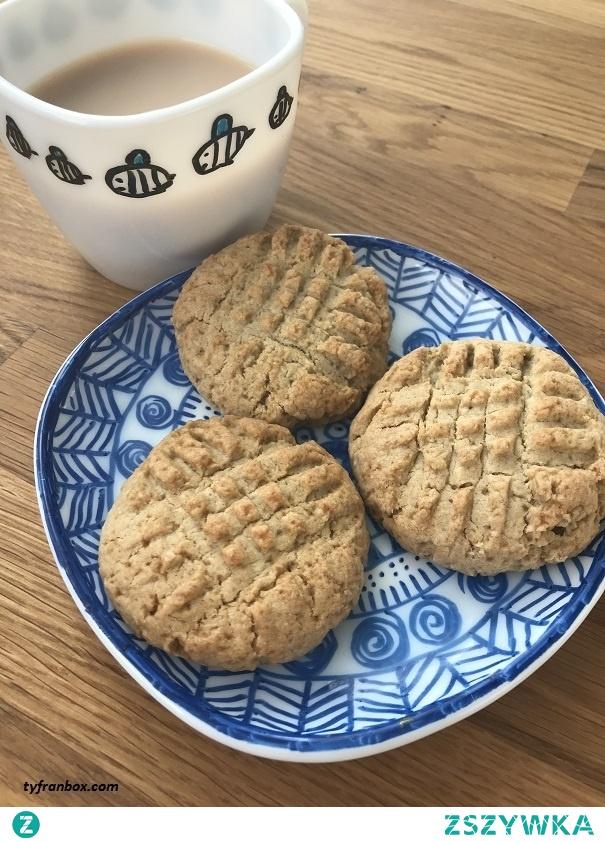 Kruche ciasteczka z mąki żytniej