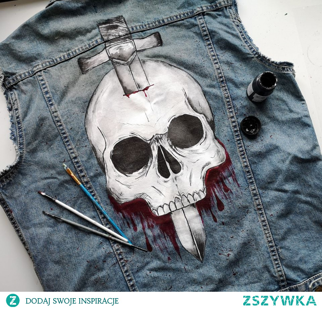 Męska kamizelka ręcznie malowana. :) Zapraszam do sklepu everywear.pl :)