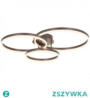 3-Light 70cm New Design / Lovely Flush Mount Lights Metal Acrylic Circle Painted Finishes LED / Nordic Style 110-120V / 220-240V