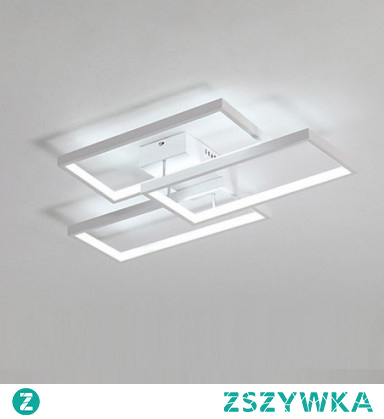 3-Light 40cm LED Flush Mount Lights Aluminum Painted Finishes Contemporary / LED 110-120V / 220-240V
