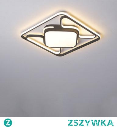 1-Light 42cm LED / New Design Flush Mount Lights Metal Linear Painted Finishes LED / Modern 110-120V / 220-240V
