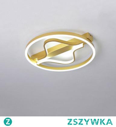 40cm Line Design Flush Mount Lights Metal Acrylic Modern Style / Linear Brushed / Painted Finishes LED / Modern 110-120V / 220-240V