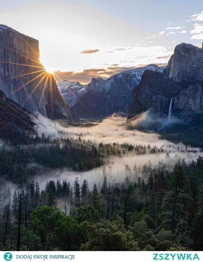 Park Narodowy Yosemite w Kalifornii.