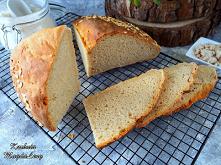 Maślankowy chleb pszenno-żytni
