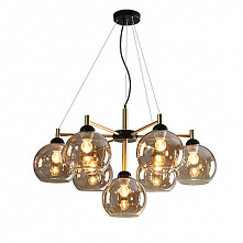 7 Light Chandelier Ambient Light Electroplated Metal Glass Creative Adorable